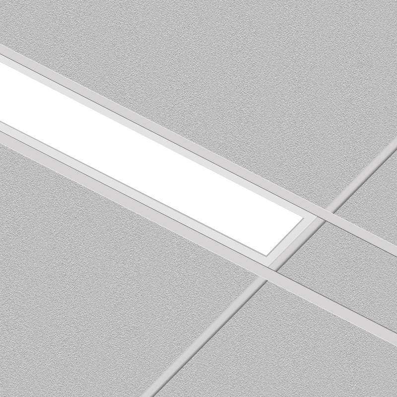 Architectural Recessed Linear LED Light Fixture