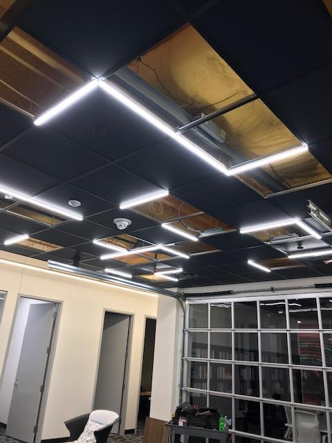 T-Grid LED Light for Office Space