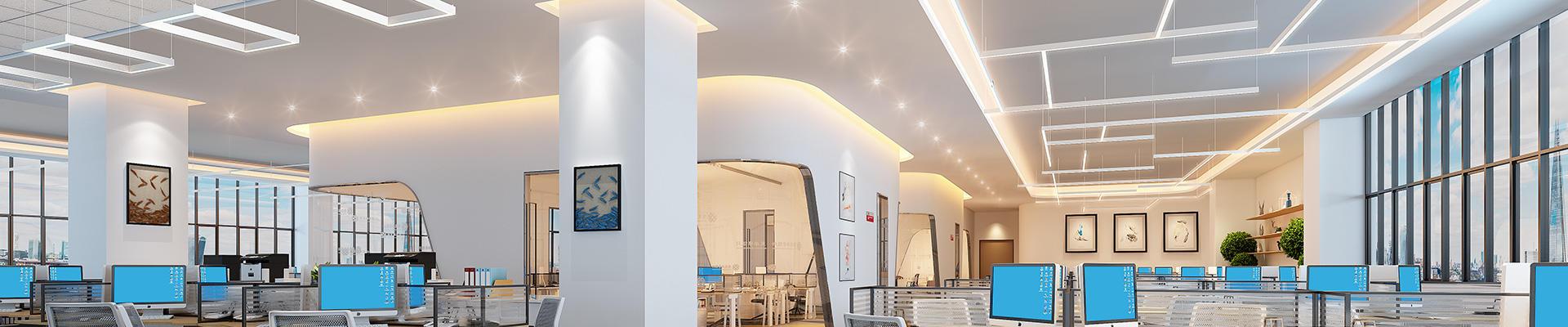 Architectural Slim LED Linear Light Fixture