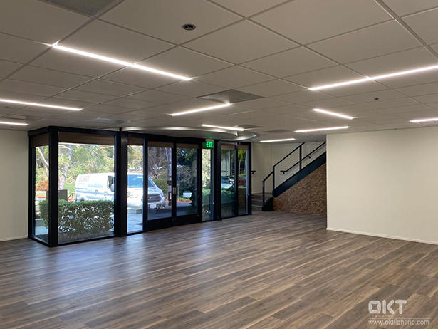 T-Grid LED Linear Light for New Office