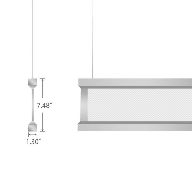 4ft Vertical Linear LED
