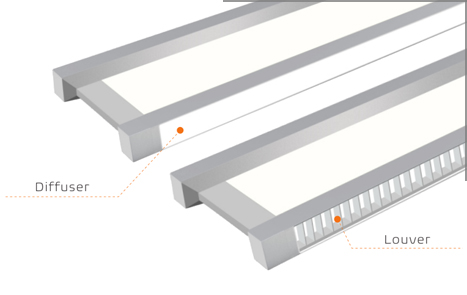 led suspended lighting fixtures,