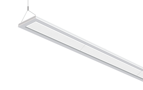 suspended led linear panel
