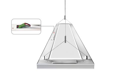 linear led pendant light