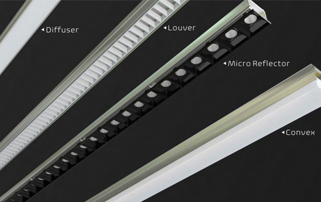 architectural LED linear wall light