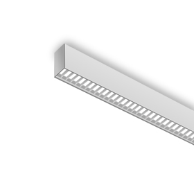 surface mounted linear luminaire
