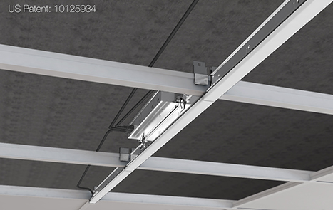 led linear light recessed