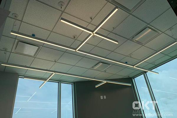 Zeta Slim Linear Suspension Light Fixtures
