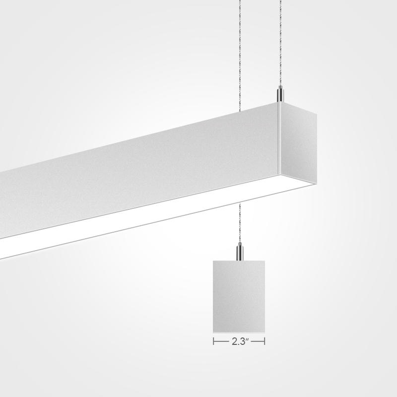 2.3 inch LED Linear Pendant Light Fixtures