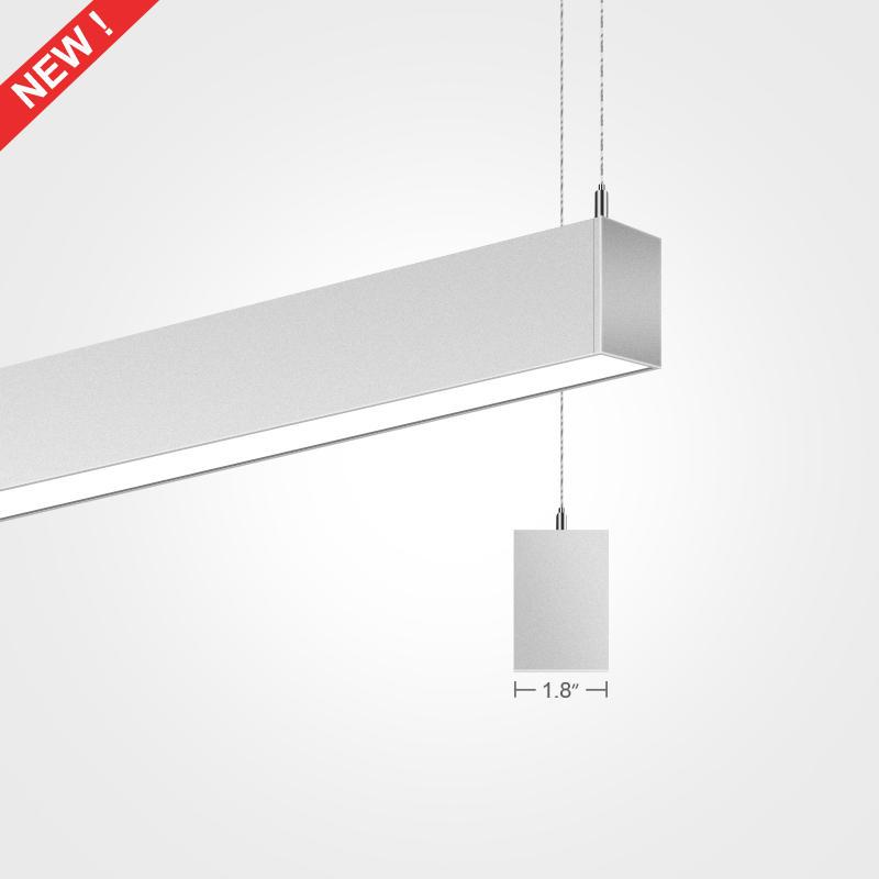 1.8 inch Pendant LED Linear Light Fixture